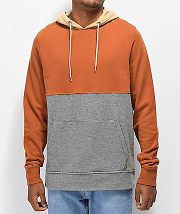 Dravus High Point Brown, Khaki & Grey Hoodie