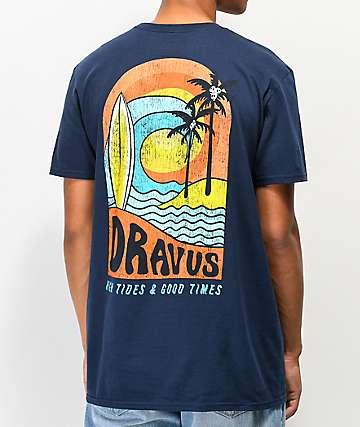 Dravus High Tides camiseta azul marino