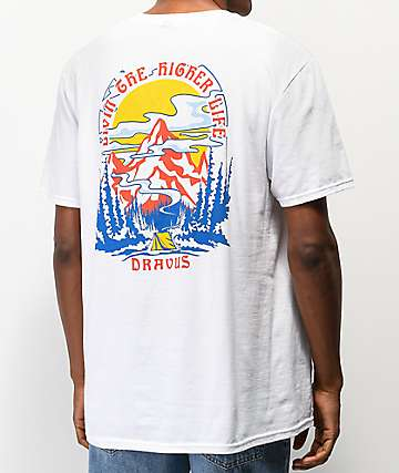 Dravus Higher Life White T-Shirt