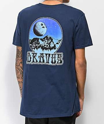 Dravus Moon camiseta azul marino