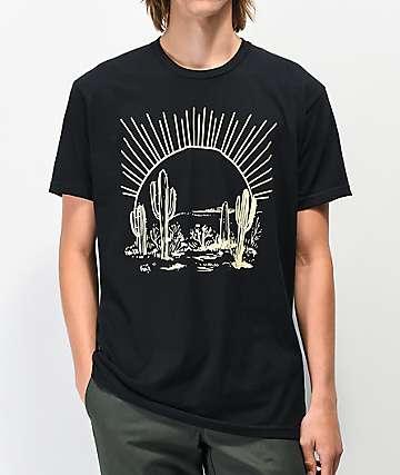 Dravus Morning Sun Black T-Shirt