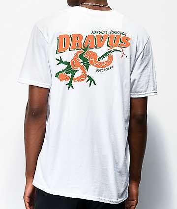 Dravus Natural Survivor camiseta blanca