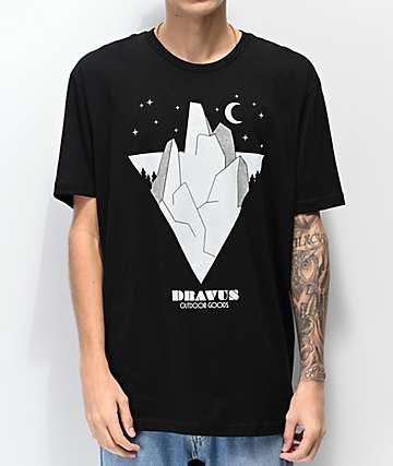 Dravus Outdoor Goods camiseta negra