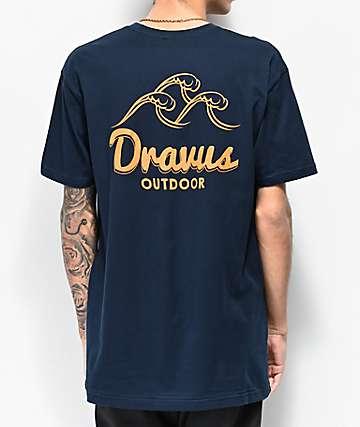 Dravus Outdoor Vibe camiseta azul marino