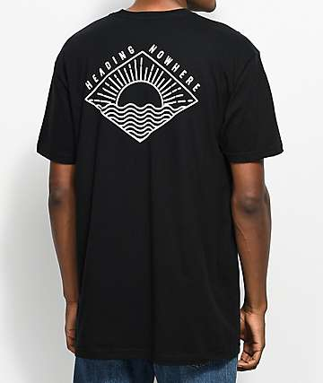 Dravus Sundown Black T-Shirt