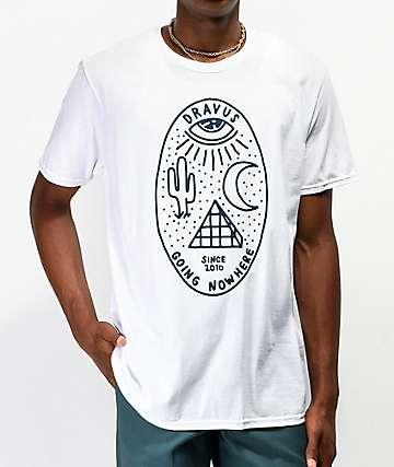 Dravus Visual camiseta blanca