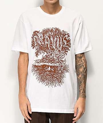 Dravus Winter Tree camiseta blanca