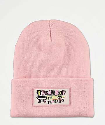 Dreamboy Cut Throats Pink Beanie