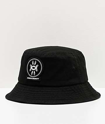 Dreamboy Laugh Now Black Bucket Hat
