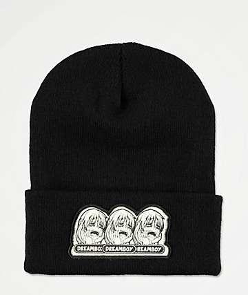 Dreamboy Tri Logo Black Beanie