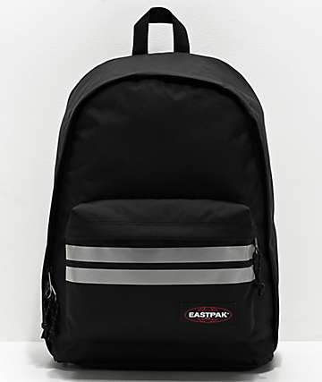 Eastpak Out Of Office mochila negra reflectante