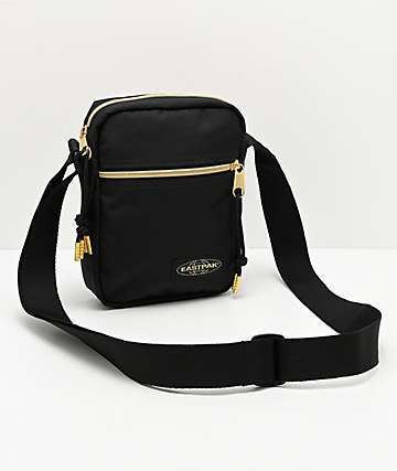 Eastpak The One Goldout Black & Gold Shoulder Bag