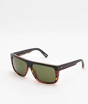 Electric Black Top Darkside Tort & Grey Sunglasses