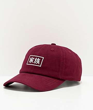Electric Family Kazoku Burgundy Strapback Hat