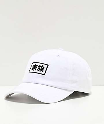 Electric Family Kazoku White Strapback Hat