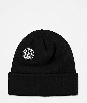 Electric Watchman Black Beanie