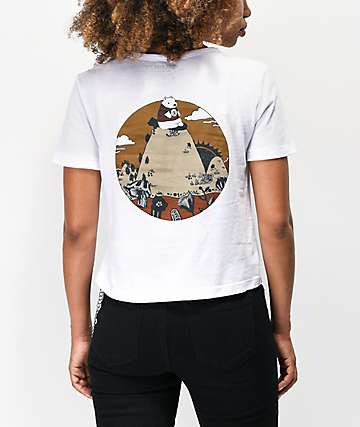 Element Bearly camiseta corta blanca