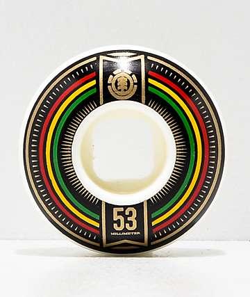 Element Elite 53mm 98a Skateboard Wheels