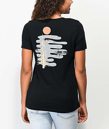 Element Fog Black T-Shirt
