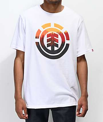 Element Glimpse Icon camiseta blanca