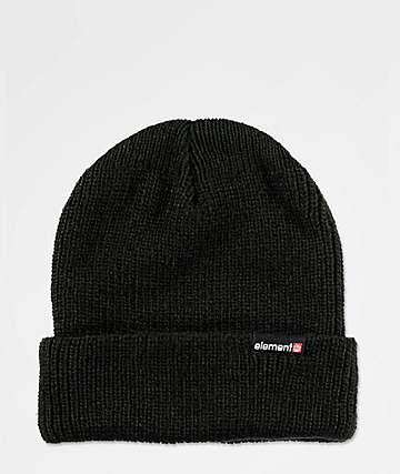 Element Kernel Flint Black Beanie
