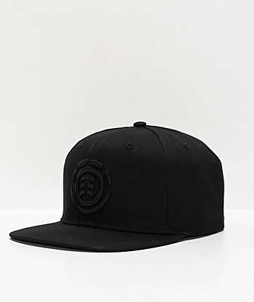 Element Knutsen All Black Snapback Hat