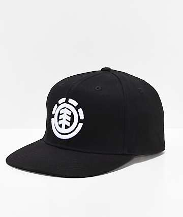Element Knutsen Black & White Snapback Hat