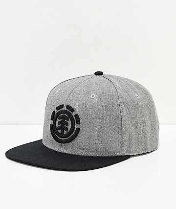 Element Knutsen Grey Snapback Hat