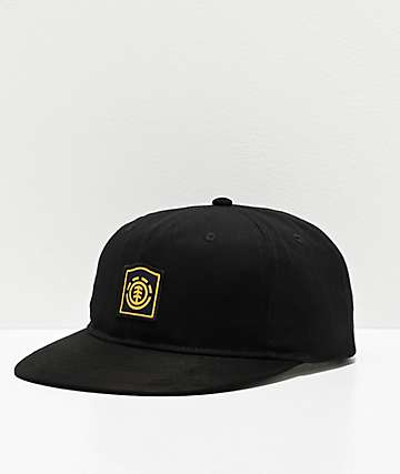 Element Noble Flint Black Snapback Hat