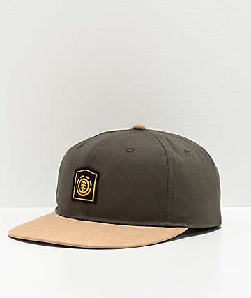 Element Noble Olive Snapback Hat