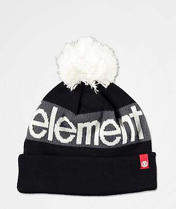 Element Primo Black Pom Beanie