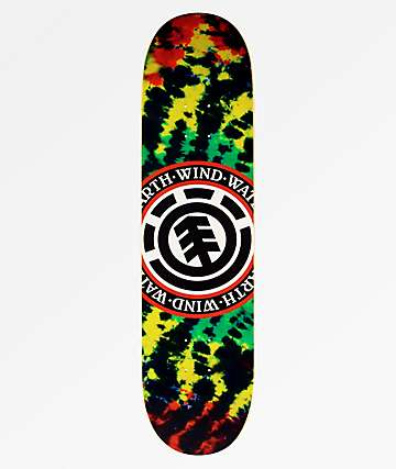 "Element Rasta Seal 8.0"" Skateboard Deck"