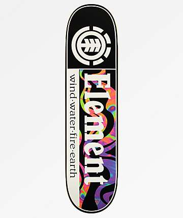 "Element Section Smoke 8.0"" Skateboard Deck"