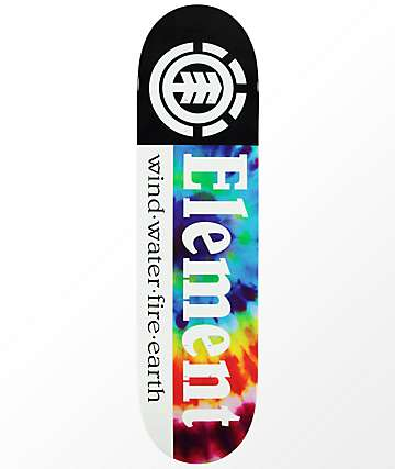 "Element Section Tie Dye 8.0"" tabla de skate"
