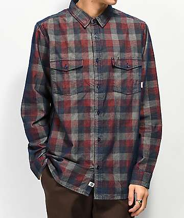 Element Tacoma Corduroy Flannel Shirt