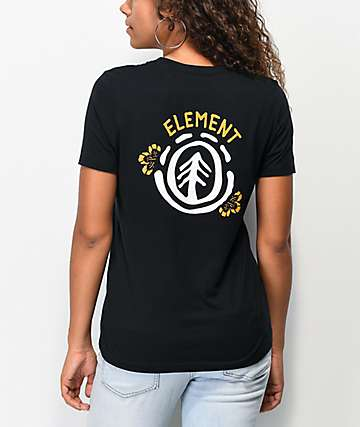 Element Tioga II Black T-Shirt