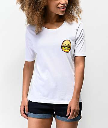 Element Trippin On Element White T-Shirt