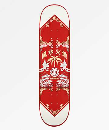 "Element Woodcut 8.0"" Skateboard Deck"