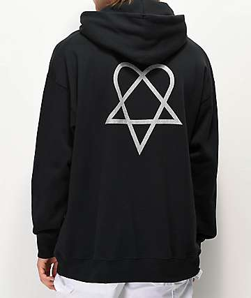 Element x Bam x HIM Black Hoodie