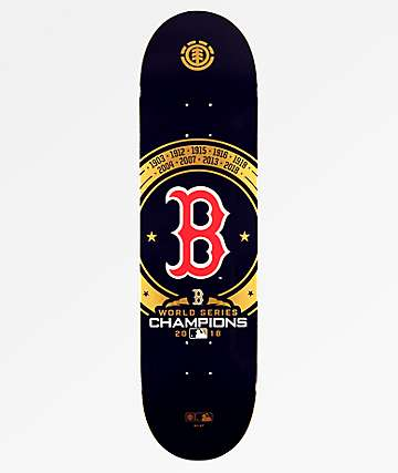 "Element x MLB World Series 2018 8.0"" Skateboard Deck"