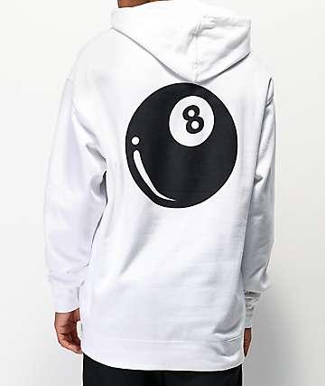Emerica 8 Baller White Hoodie