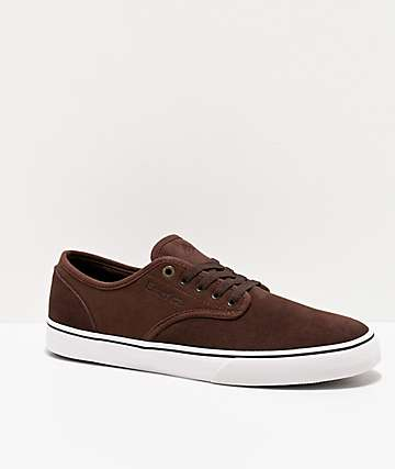 Emerica Wino Standard Chocolate Skate Shoes