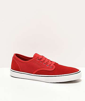 Emerica Wino Standard Red & White Skate Shoes