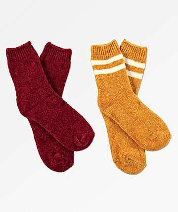 Empyre 2 Pack Zena Chenille Socks