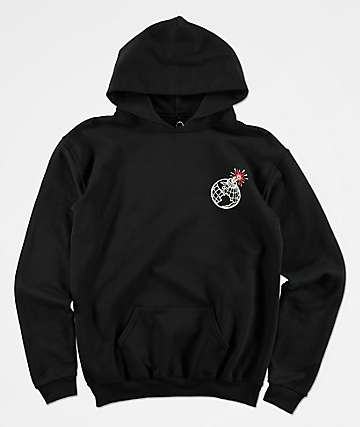 Empyre Boys Goodbye World Black Hoodie