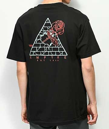 Empyre Broken Roses camiseta negra