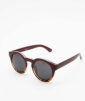 Empyre Carter Black & Brown Sunglasses
