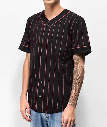 Empyre Chuck Black & Red Baseball Jersey