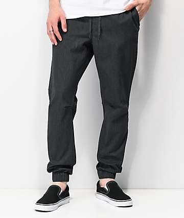 Empyre Creager joggers grises con cintura elástica