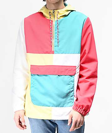 Empyre Crugo Yellow, Green & Red Anorak Jacket